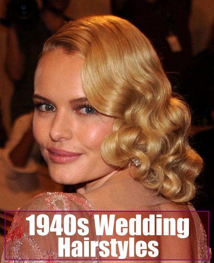 1940s wedding hairstyles fashion