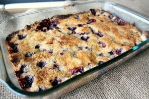 Blackberry Crumble Dump Cake 5
