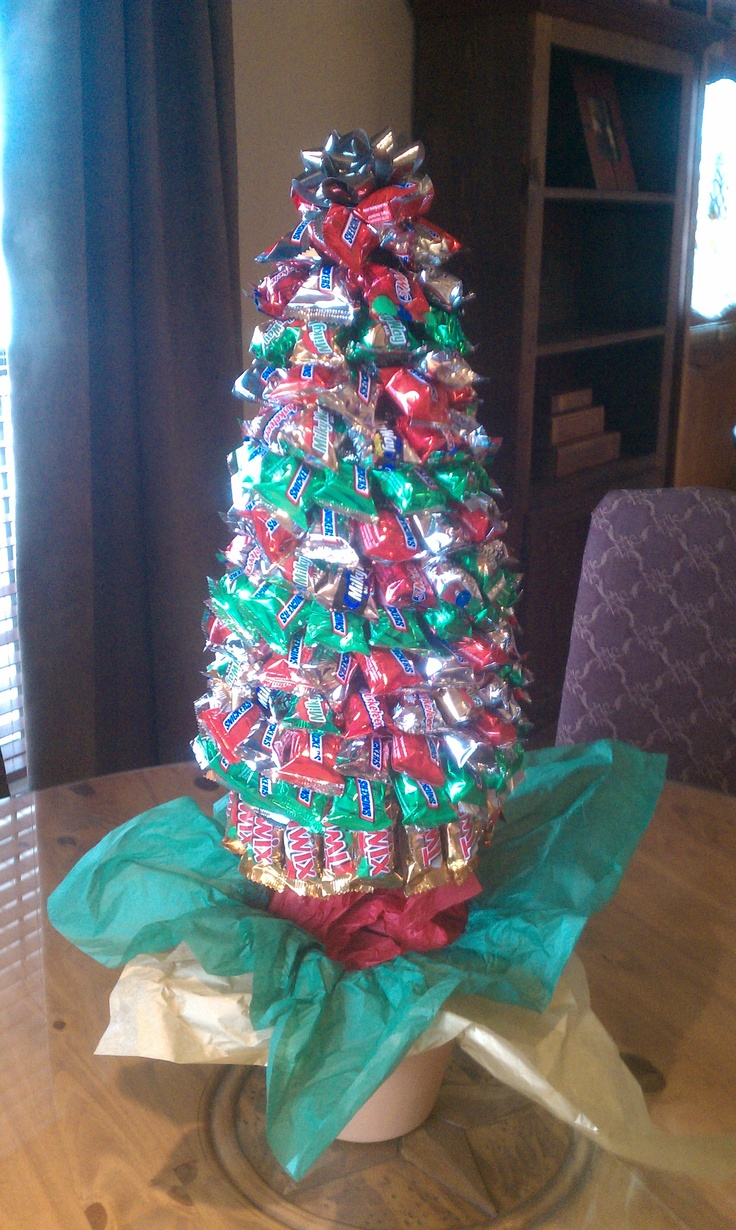 Lori s christmas candy tree crafts pinterest