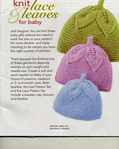Knitting Pattern For Lace Baby Hat : 17 Best images about Gorros y capotas on Pinterest Baby hat knitting patter...