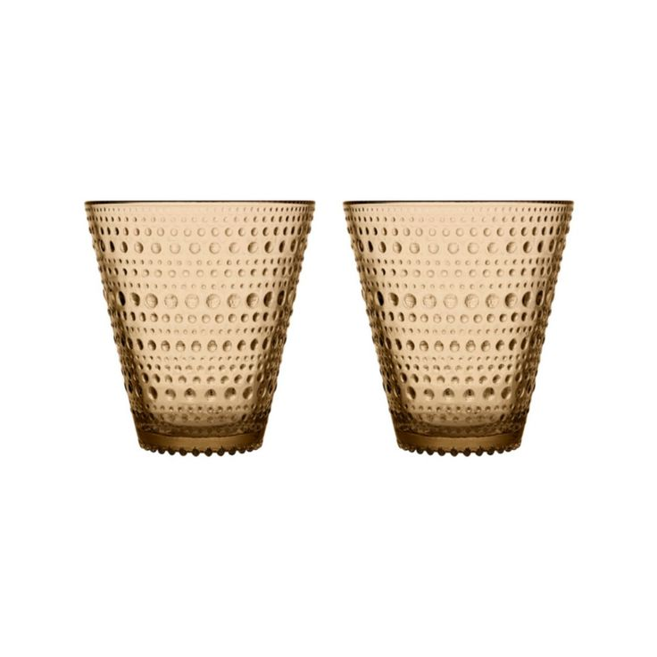 Kastehelmi bicchieri, deserto 2 pz di Iittala / Kastehelmi glasses, desert 2 pcs by Iittala