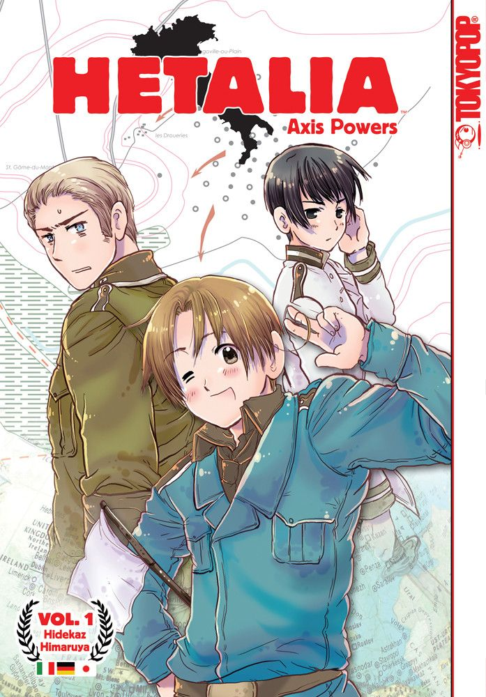 Hetalia Axis Powers Manga Volume 1