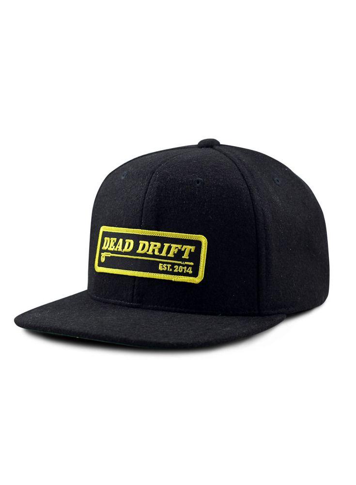 Dead Drift Fly Fishing Hats_Moto_Black.jpg