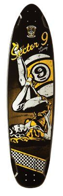 Sector 9 Longboard Deck LACEY DOWNHILL DIVISION. Lacey Downhill.