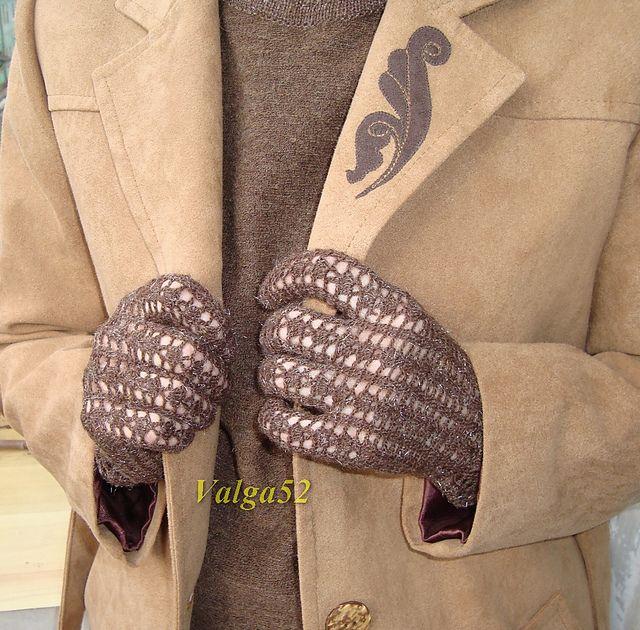 Ravelry: Valga52's Fishnet gloves / Ажурные перчатки