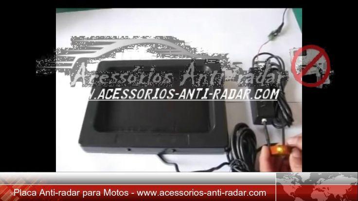 PLACA AUTOMÁTICA ANTI-RADAR PARA MOTOS / MOTORCYCLE ANTI RADAR