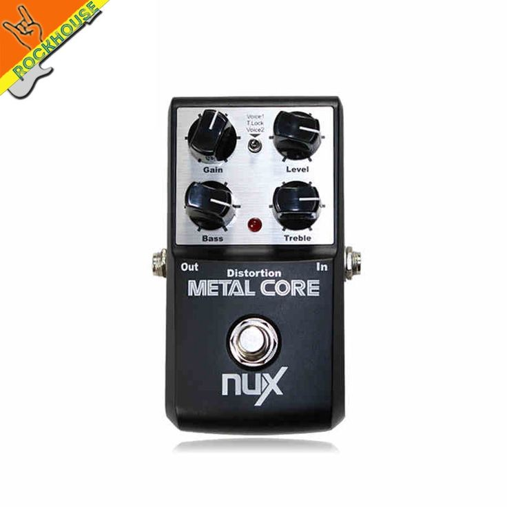 39.90$  Buy now - http://alilat.shopchina.info/go.php?t=32235480132 - NUX METAL CORE Metal Distortion Pedal Guitar Distortion Effects Pedal Built-in Noise Gate with Tone Lock Function free shipping  #magazineonline