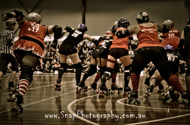 South Sea Roller Derby Ripping It Up