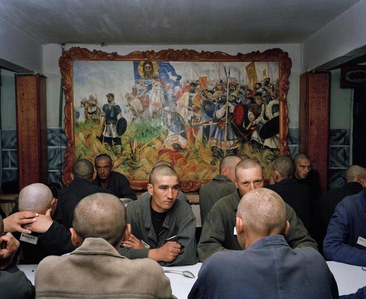 Carl De Keyzer. Camp 27, Krasnoyarsk. Prison Camps, Siberia, Russia. From Zona.