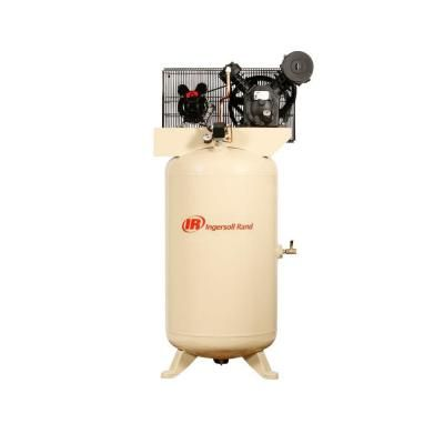 Ingersoll Rand Type 30 Reciprocating 80-Gal. 5 HP Electric 230-Volt, Single Phase Air Compressor-2340N5-V