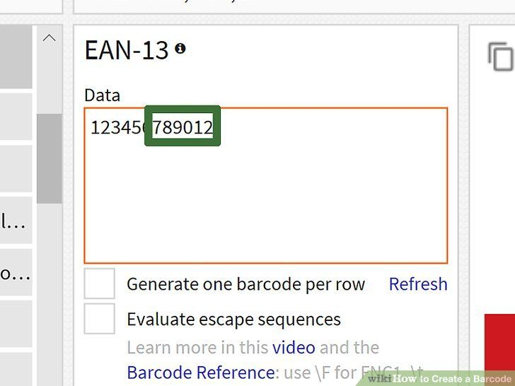 How To Create A Barcode In 2020 Barcode Prefixes Learning