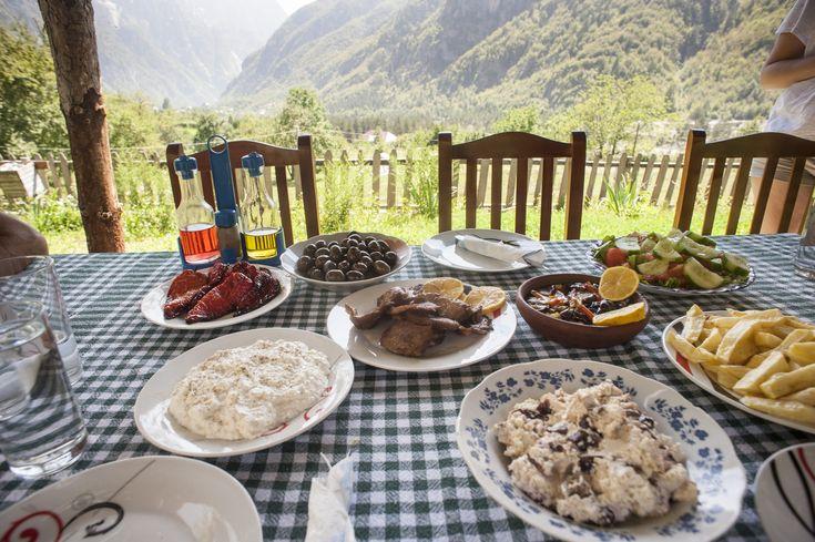 Feast in Thethi!