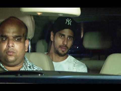 Sidharth Malhotra at special screening of Salman Khan's SULTAN movie at Yash Raj Studio.