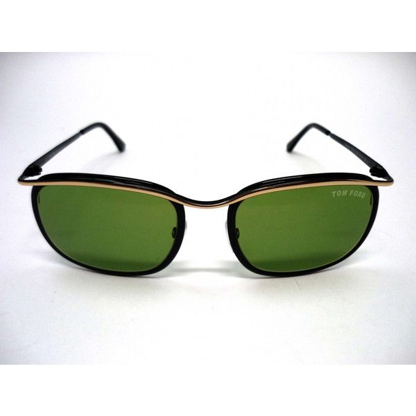 Stunning Tom Ford sunglasses with emerald green lens.