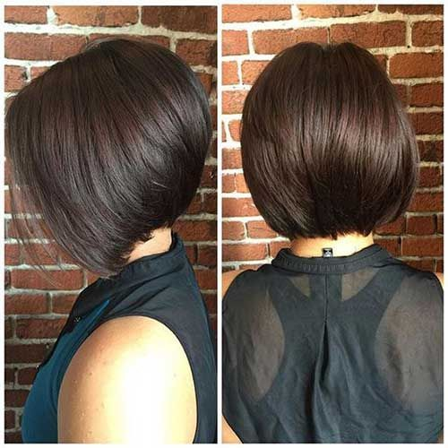 Really Trending Short Stacked Bob Ideas | http://www.short-haircut.com/really-trending-short-stacked-bob-ideas.html