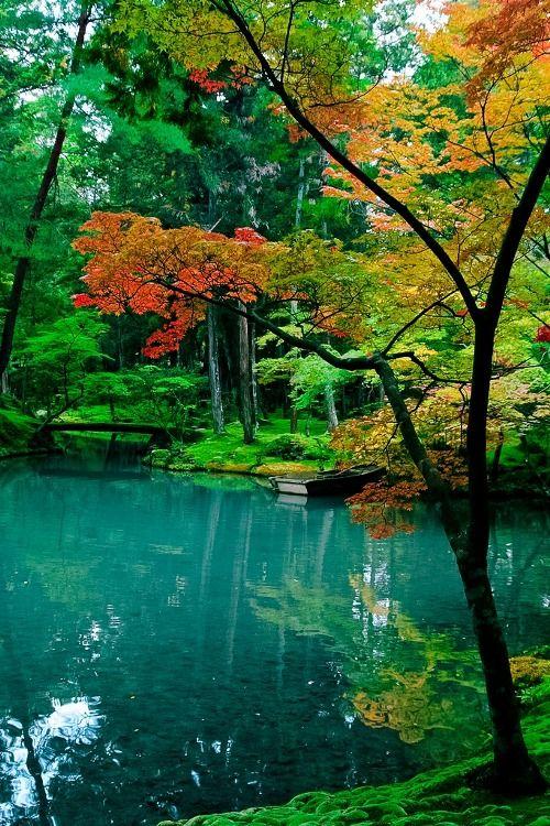 Saihō-ji Temple in Kyoto, Japan ~ by bettylamby