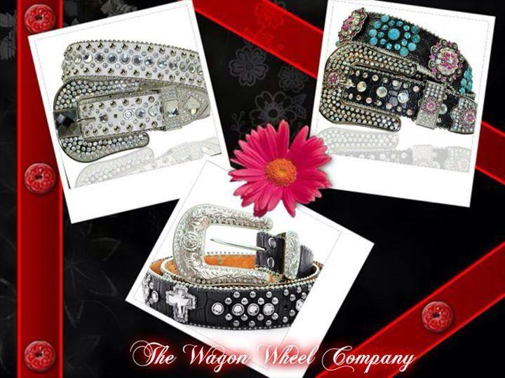Belts lots of styles http://www.wagonwheelcompany.com/#a_aid=Averoe