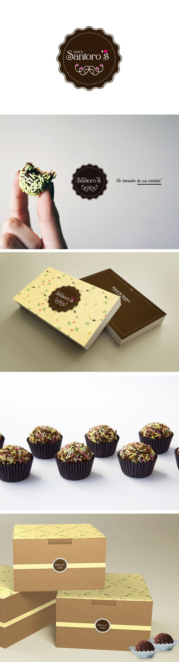 Branding Santoro's doces