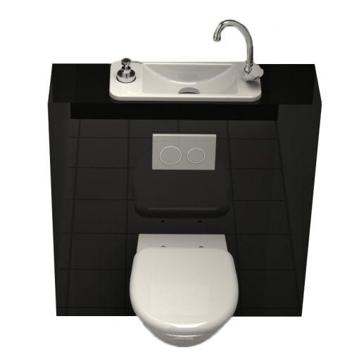 WC suspendu avec lave-mains – WiCi Next par WiCi Concept