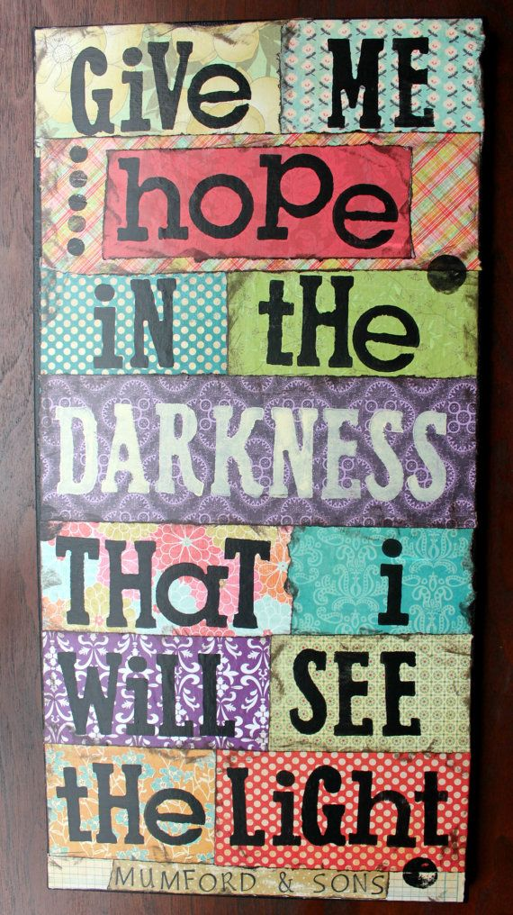 Mumford & Sons 12x24 Ghosts That We Knew  Art by SunshineAndGray