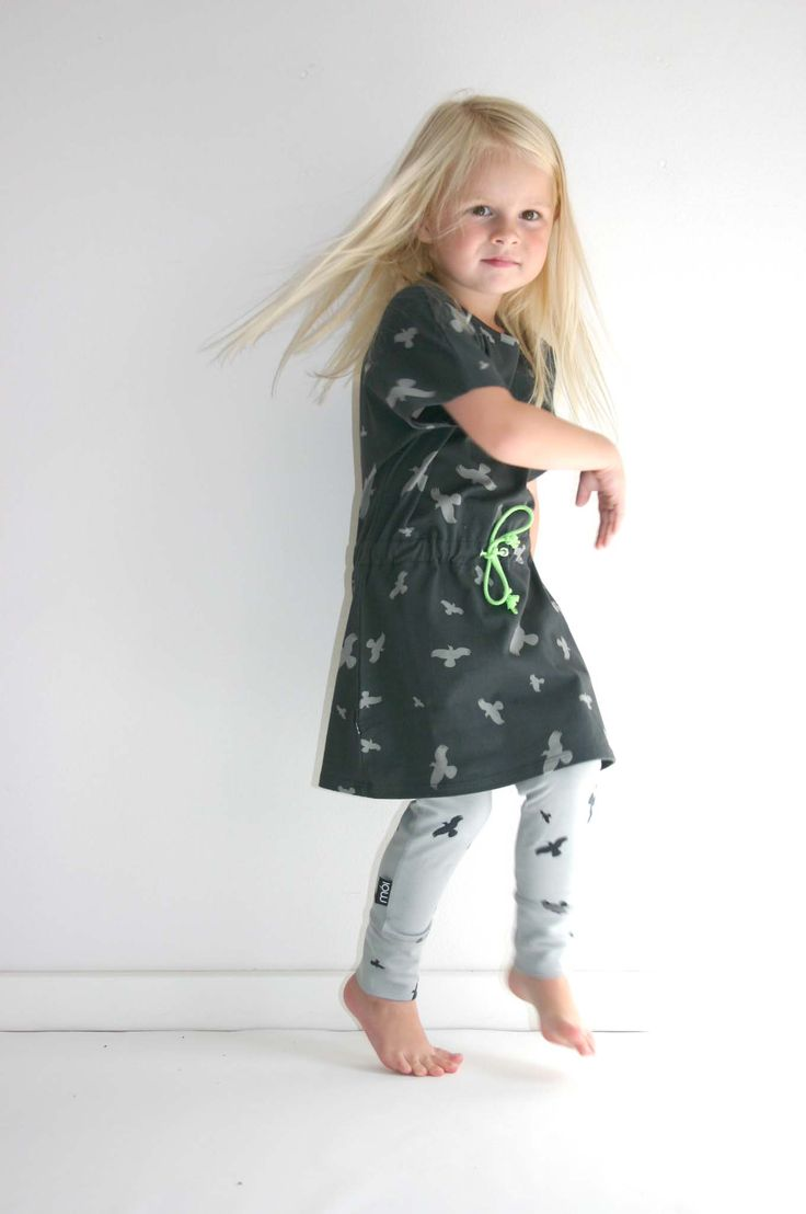 Mooi ontwerp voor stof en mooi jurkje | Mói Kidz