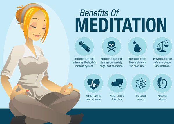 There are many benefits of meditation. And even if you do it, just hoping fir one, you could get the whole lot!