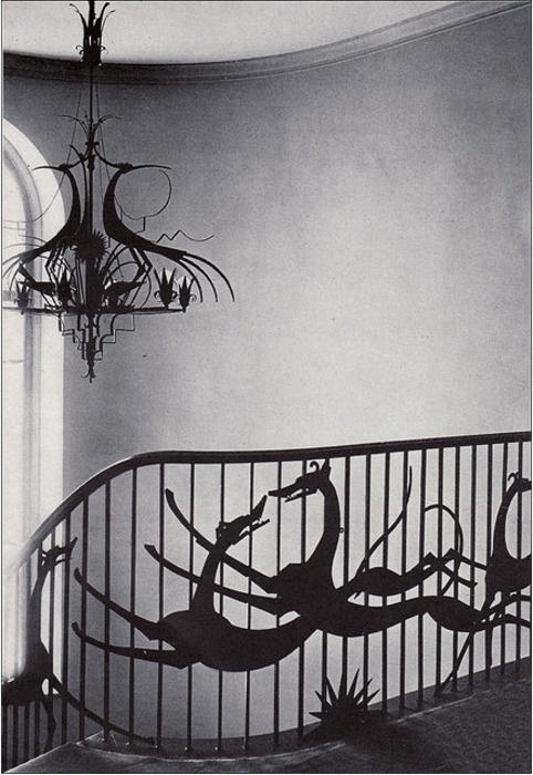 Wilhelm Hunt Diederich railing, 1927