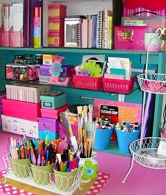 My desk WILL look like this!