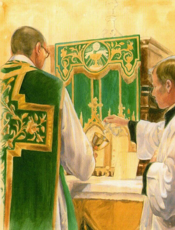 Ação de Graças Santa Missa de Sempre - Imagens - Associação Santo Atanásio