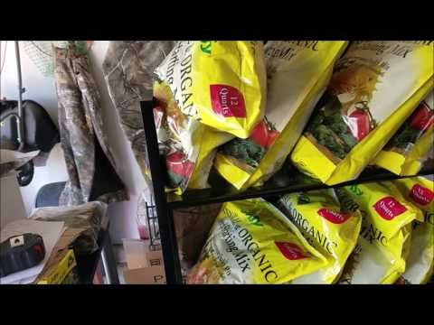 Compost tea ingredients, garden barrel, grow room flowers and....1000 SUBSCRIBERS!!!! - YouTube