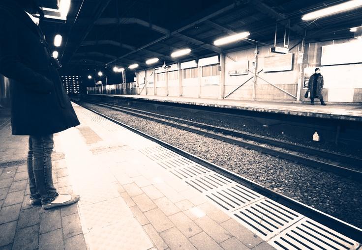 Tracks apart..