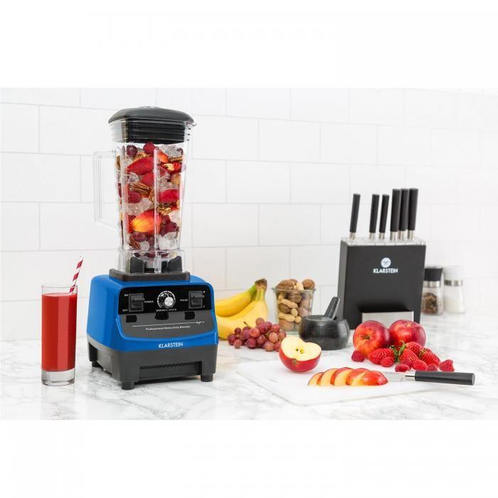 Herakles 3G Power-Mixer 1500W 2PS 40.000U/min BPA-frei 2l blau