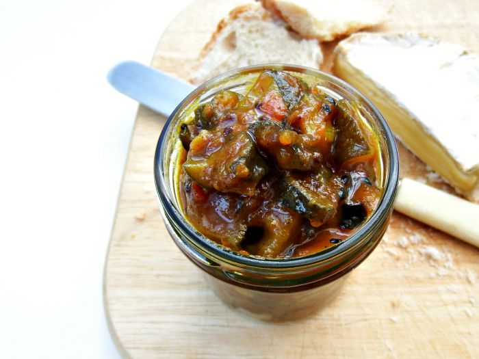 Recipe: Fiery Courgette Relish