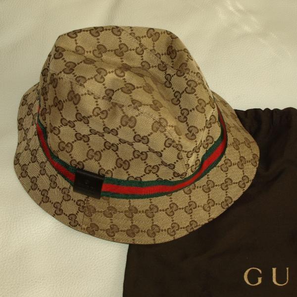 fce498369ea6f Tip  Gucci Hat (Khaki)