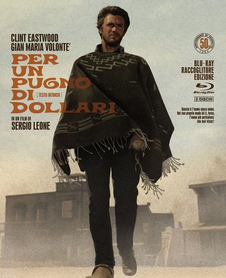 Amazon.co.jp | A Fistful of Dollars full production 50 anniversary Blu-ray Collector's Edition DVD · Blu-ray - Clint Eastwood, Gian Maria Volonté Marian Ne Koch, Wolfgang Rusuki, Jikuharuto Rupp, Jose Calvo, Sergio Leone
