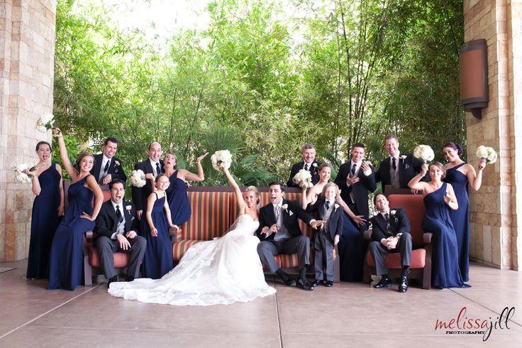 Associate Wedding -- Legacy Ballroom - Phoenix Wedding Photographer - Melissa Jill Photography