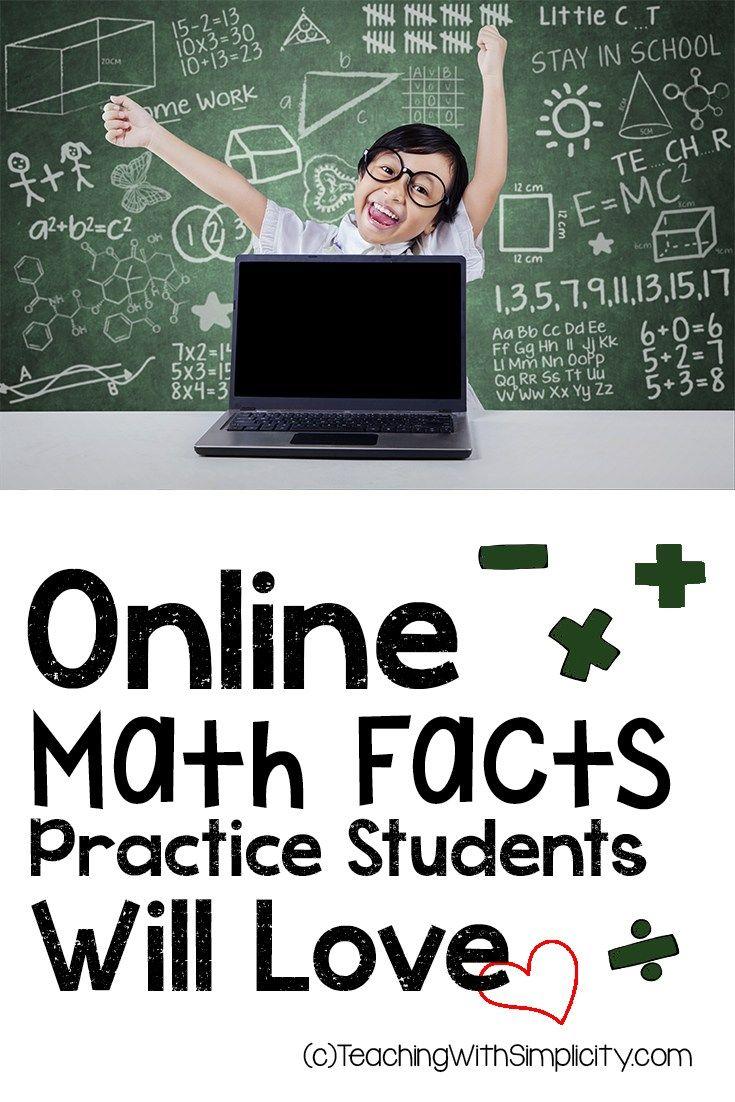 Worksheet Math Fact Games Online 1000 ideas about math fact practice on pinterest maths online practice
