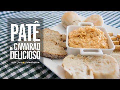 Paté de Delicias do Mar na Bimby - YouTube