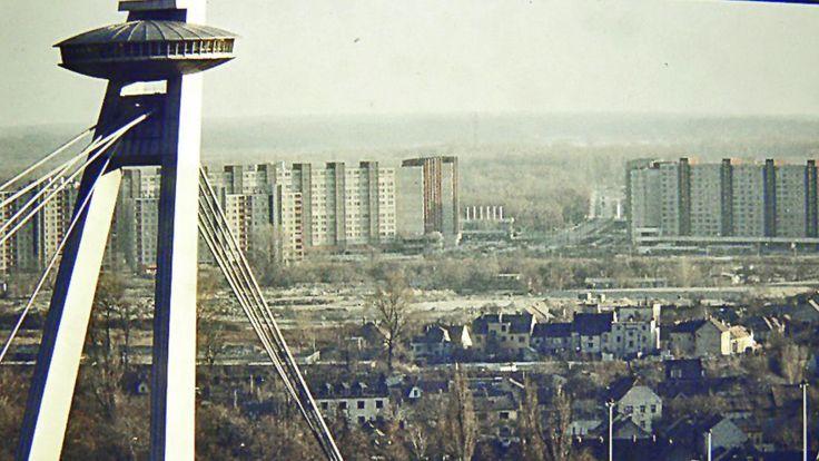 80. roky, Dostihová ulica: Pohľad z Bratislavského hradu. | Nový Čas