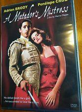 A Matador's Mistress DVD Movie with Penelope Cruz. Love Story