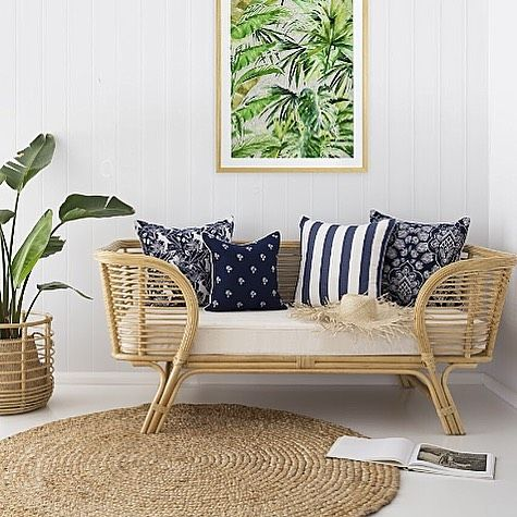 #nautical #cushions #outdoorlving #indooroutdoor #navyandwhite #blueandwhite #outdoorfabric