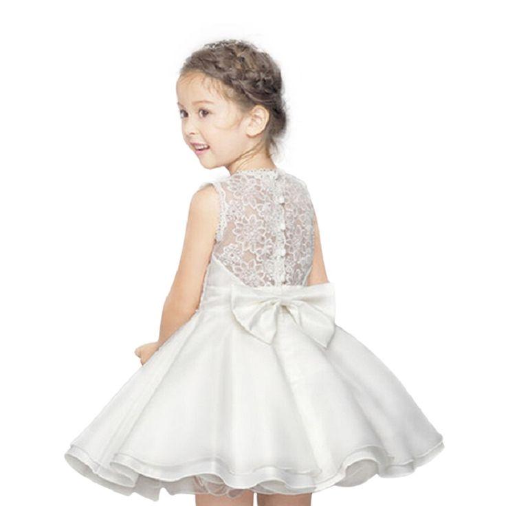 Haute qualité dentelle fille robes enfants robe Summer Party princesse bébé fille robe de mariage d'anniversaire grand arc rose pour 100 160 dans Robes de Produits pour bébés sur AliExpress.com | Alibaba Group