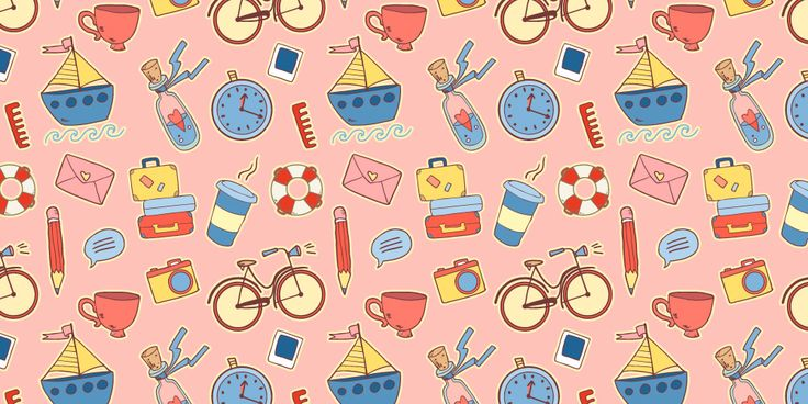 Vector summer patterns on Behance