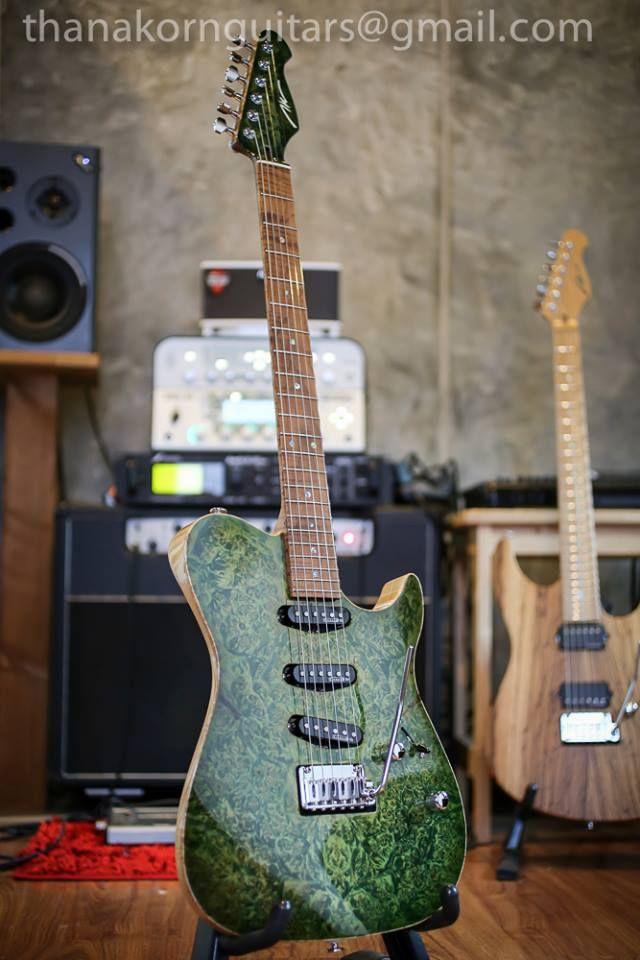 thanakorn guitars tnt custom22 guitars guitar custom guitars guitar building. Black Bedroom Furniture Sets. Home Design Ideas