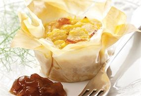 Phyllo Fish Bobotie Parcels. Master the art of finessing phyllo fish parcels, prepared with a little South African flair. If you're not a fish fan, use vegetables or meat, such as beef mince, instead. https://www.spur.co.za/sauces/recipes/phyllo-fish-bobotie-parcels