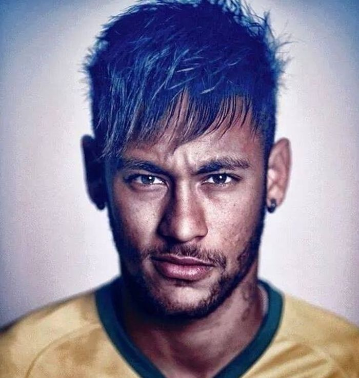 neymar short hairstyles world cup 2014 #football players hairstyles 2015 #young male hairstyles