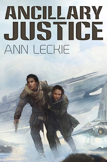 Subterranean hardcover limited edition of Ancillary Justice cover art by Lauren Saint-Onge