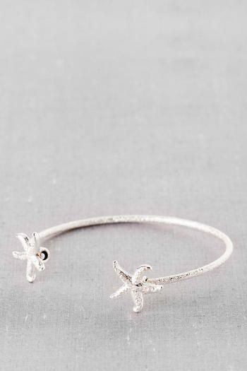Rockport Starfish Bangle in Silver