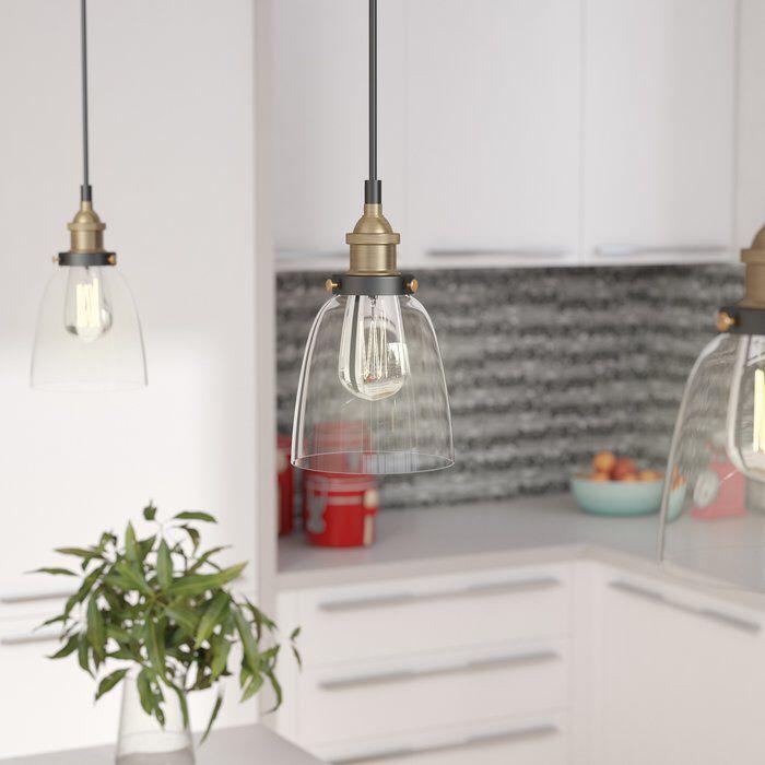 Bundaberg 1 Light Single Bell Pendant Cool Lighting Foyer Decorating Led Strip Lighting