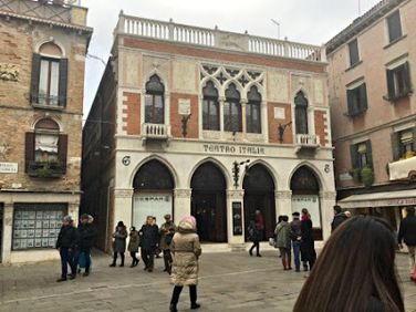The Most Beautiful Supermarket in the World? Teatro Italia - Part Two: The Balcony